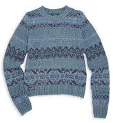 Ralph Lauren Girl's Fair Isle Sweater