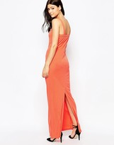 French Connection Mona Crepe Strappy Maxi