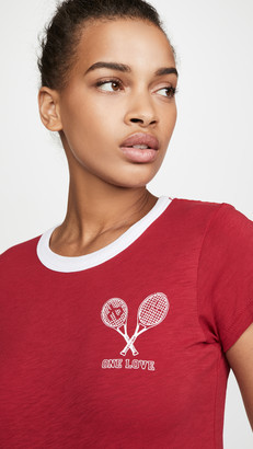 Rag & Bone One Love Tennis Tee