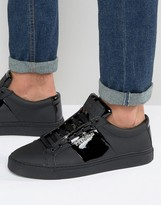 Religion Flander Leather Trainers