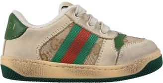 Gucci Beige Sneakers screener Gg For Kids