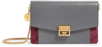 Givenchy Mini Leather Gv3 Crossbody Bag