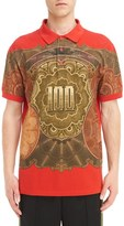 Givenchy Men's Currency Print Polo