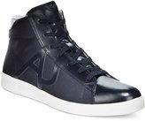 Armani Jeans Men's Hightop Sneakers