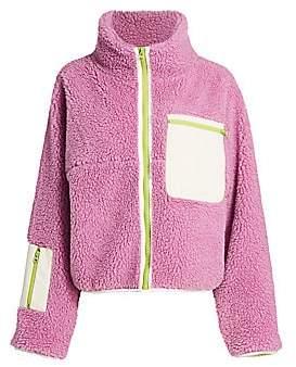 Sandy Liang Women's Ponyo Fleece Jacket