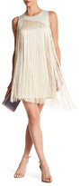Rachel Roy Fringe Sheath Dress