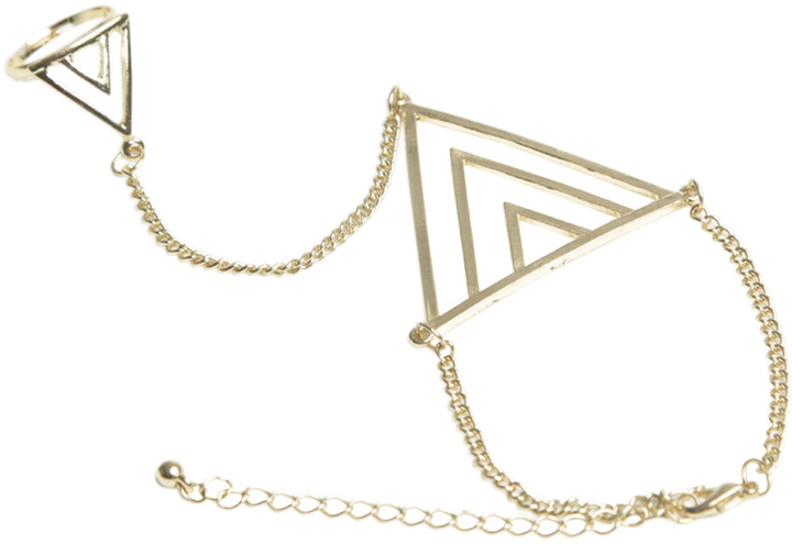 Wet Seal Tribal Geometric Hand Jewelry