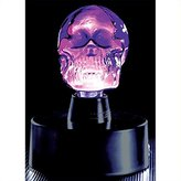 Lumisource LSE-SKSM-BR Mini Skull Electra Lamp Blue- Red