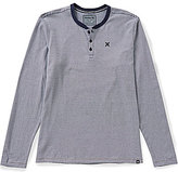 Hurley Lookout Dri-FIT Striped Long-Sleeve Henley