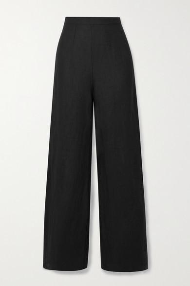 Faithfull The Brand Net Sustain Sibyl Linen Wide-leg Pants