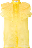Givenchy frill blouse