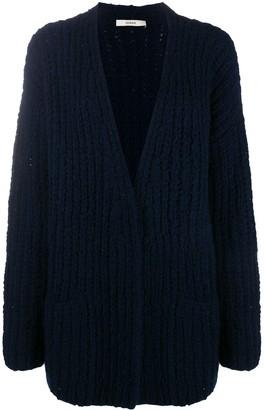 Odeeh Chunky Knit Longline Cardigan