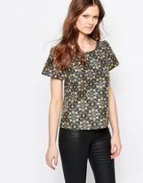 Traffic People Bonnie Top In Jacquard