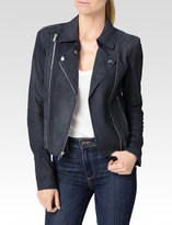 Paige Silvie Jacket - Dark Ink Blue
