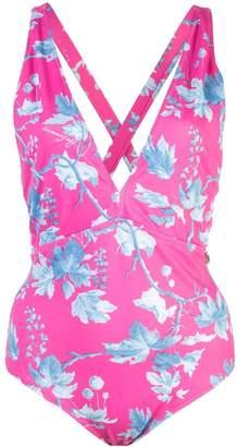 Carolina Herrera floral print swimsuit