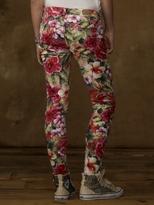 Denim & Supply Ralph Lauren Leaf Floral Skinny Jean