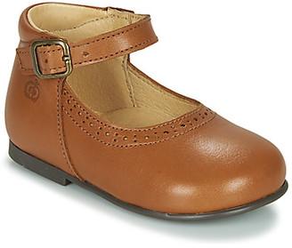 Citrouille et Compagnie LESTAL girls's Shoes (Pumps / Ballerinas) in Brown