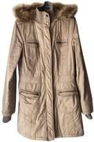 Asos Beige Cotton Coat for Women