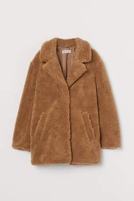 H&M Pile Coat - Beige