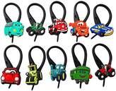 Hermes 10 pcs Cars # 3 Soft Zipper Pull for Jacket Backpack Bag Pendant / 10 pieces Zip Pendentif, decoration pour la Veste, Sac