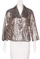 Michael Kors Metallic Cloqué Jacket