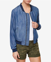 Sanctuary Chambray Bomber Jacket