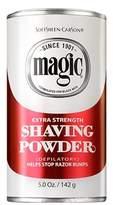 Magic Red Shaving Powder 4.5oz. X-Strength Depilatory