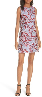 Alice + Olivia Coley Floral Sleeveless Dress