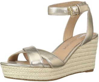 Amazon Brand - 206 Collective Women's Campbell Espadrille Dress Wedge-High Sandal