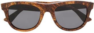 Bottega Veneta Classic D-Frame Sunglasses