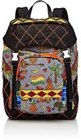 Prada Men's Mixed-Print Backpack