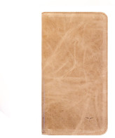 CLHEI - Travel Wallet in Aged Tan