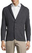 Armani Collezioni Textured Check Jacket