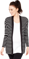 Motherhood Bumpstart Open Front Drape Maternity Cardigan
