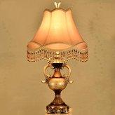 ZHANG European table lamp creative living room bedroom bedside lamp