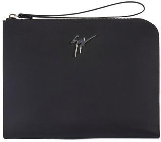 Giuseppe Zanotti Logo Clutch Bag