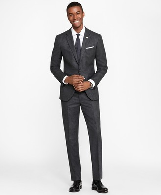 Brooks Brothers Milano Fit Stretch Flannel 1818 Suit