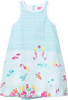 Joules Turquoise Under The Sea Print Dress