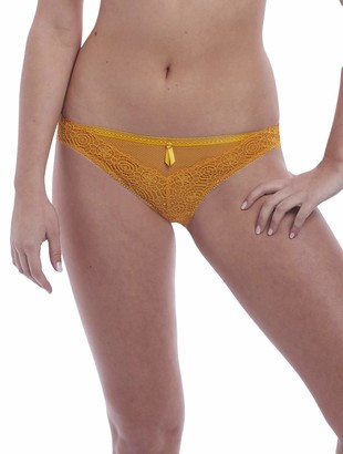 Freya Women's Expression Crochet-Look VPL-Free Lace Brief Underwear