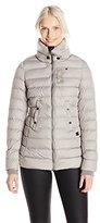 G Star Women's Whistler Slim Puffer Coat Beige