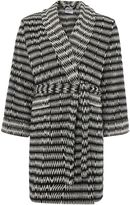 Linea Black chevron robe m/l