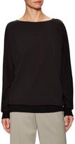Lafayette 148 New York Cotton Dolman Sweater