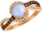 LeVian Le Vian 14K Rose Gold 1.07 Ct. Tw. Diamond & Neopolitan Opal Ring