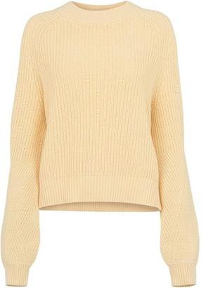 Whistles Fashion Detail Cotton Knit