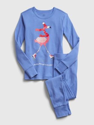 Gap Kids Flamingo Graphic PJ Set