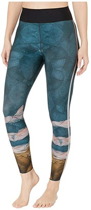 ULTRACOR Caspian Ultra High Leggings (Gulf Print) Women's Casual Pants