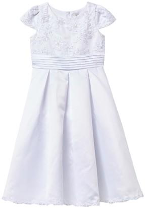 Us Angels Lace Bodice Dress (Big Girls)