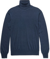 Brioni - Wool, Silk And Cashmere-blend Rollneck Sweater