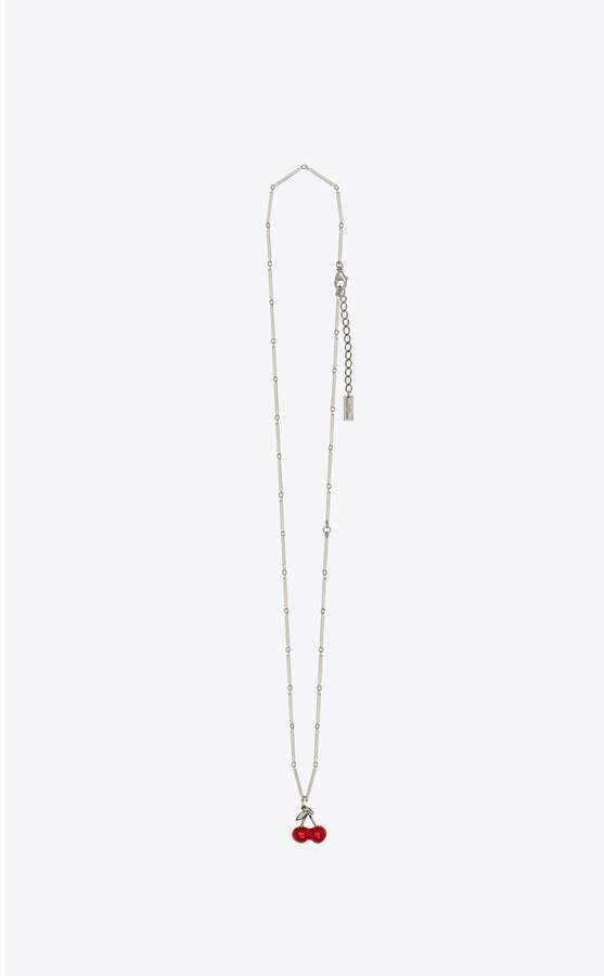 2d44e0c22f3 Saint Laurent Silver Necklaces - ShopStyle