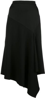 Dvf Diane Von Furstenberg Analisa asymmetric skirt